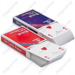 Juego Poker leggero Royal - Mazzo di carte plastificate