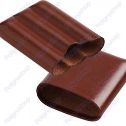 Egoist Portasigari Porta Ammezzato Pocket Brown 3 pz