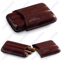 Officine De Medici Portammezzato Sagomato 3 pz Brown porta sigari