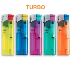 Ciao Piezo Turbo Color Glass - 5 Accendini