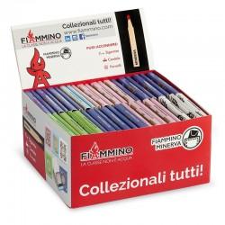 Fiammiferi Minerva Foulard Fiammino - Box da 50 scatoline da 20