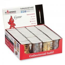 Fiammiferi svedesi Italia Fiammino - Box da 48 scatoline da 38