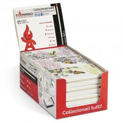Fiammiferi 9,5 cm milleusi Romantic Fiammino - Box da 12 scatoline da 45