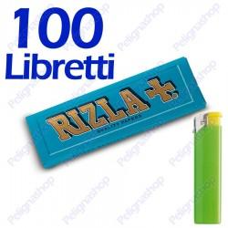 5000 Cartine Rizla Blu corte - 100 libretti