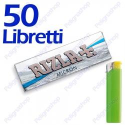 2500 Cartine Rizla Micron corte - 50 libretti
