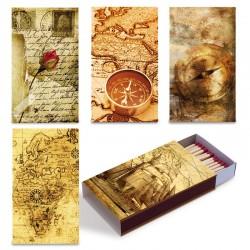 Fiammiferi 9,5 cm milleusi Maps Fiammino - 1 scatolina da 45