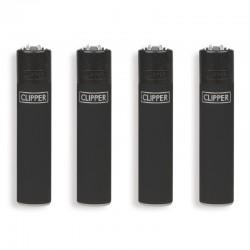 Clipper Micro Fantasia BLACK SOFT - Box da 48 Accendini