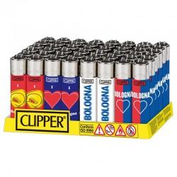 Clipper Large Fantasia BOLOGNA - Box da 48 Accendini