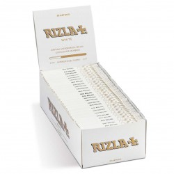 RIZLA CARTINE CORTE BIANCHE confezione da 50 libretti