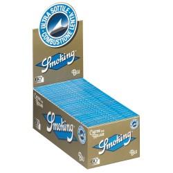 CARTINE SMOKING BLU CORTE - box da 50 LIBRETTI