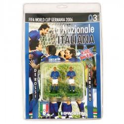 Modellini Calciatori Nazionale Italiana - World Cup Germania DE AGOSTINI