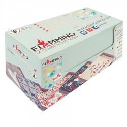 Fiammiferi 9,5 cm focolare Short Joy Fiammino - 1 box da 12 scatoline