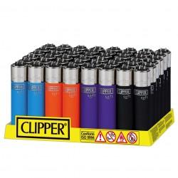Clipper Large SOFT TOUCH 3 - Box da 48 Accendini