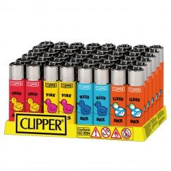 Clipper Micro ANIMALS 11 - Box da 48 Accendini