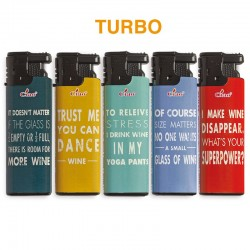 Ciao Turbo WINE - Box da 50 Accendini