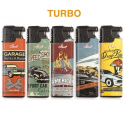 Ciao Turbo GARAGE - Box da 50 Accendini
