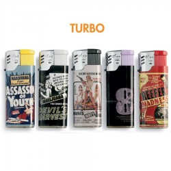 Ciao Turbo Mini THE TRIP - Box da 50 Accendini