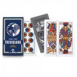 Mazzo di Carte da gioco Juego Trevigiane 52 100% plastica