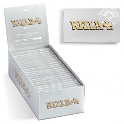 RIZLA CARTINE SILVER CORTE DOPPIE Box da 25