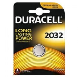 Duracell Lithium CR2032 / CR / DL2032 / BR2032 Pile 3V - Blister 1 Batteria