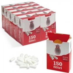 Bravo Slim 6mm Ruvidi - Box 10 Scatoline da 150 Filtri