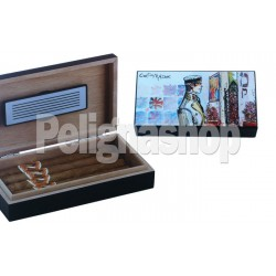 CORTO MALTESE Humidor Travel Andalusia umidificatore
