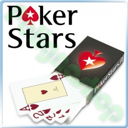 Carte da gioco POKERSTARS Texas Hold'Em JUEGO Poker Stars