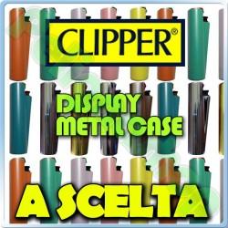 Accendino CLIPPER Metal Case A SCELTA