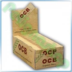 CARTINE OCB ORGANIC HEMP CORTE CANAPA BIOLOGICA - BOX DA 50 LIBRETTI