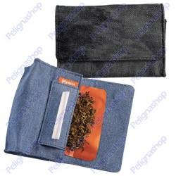 Portatabacco PINCH in Tessuto Jeans Astuccio Porta Tabacco Cartine Filtri