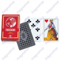 Mazzo di Carte da gioco Juego Toscane 100% plastica