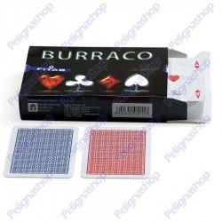 Confezione con 2 mazzi di carte Juego Burraco