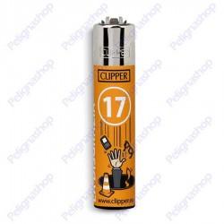 Accendino Clipper Large SMORFIA numero 17