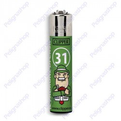 Accendino Clipper Large SMORFIA numero 31