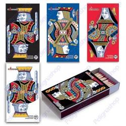 Fiammiferi 9,5 cm milleusi Players Fiammino - 1 scatolina da 45