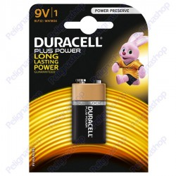 Duracell Long Power Alcaline Transistor 9V - Blister 1 Batteria