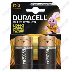 Duracell Long Power Alcaline Torcia D - Blister 2 Batterie