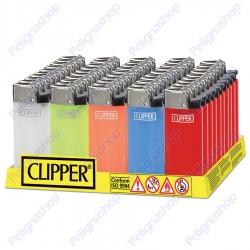 Clipper LARGE TRASLUCIDO - Box da 50 Accendini