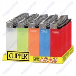 Clipper MIDI TRASLUCIDO - Box da 50 Accendini