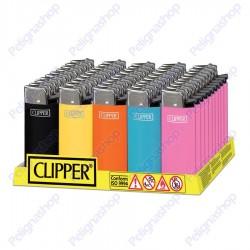 Clipper MICRO SOLID - Box da 50 Accendini