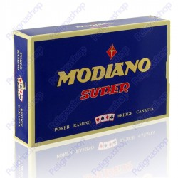Carte da gioco RAMINO POKER BRIDGE CANASTA Modiano Super