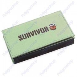 Portatabacco SURVIVOR ROLLING BAG multitasche in canvass Chiaro