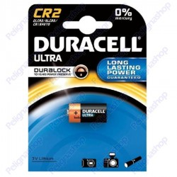 Duracell Ultra Duralock CR2 Pila Al Litio - Blister 1 Batteria