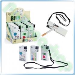 Chilling Time Bio Lighter - Accendino con posacenere tascabile