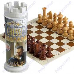 Scacchi Kasparov Rock Chess Set a Torre scacchiera