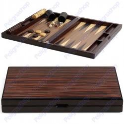Backgammon Prestige in legno intarsiato completo JUEGO