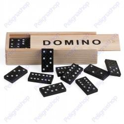 Juego Domino Black in legno