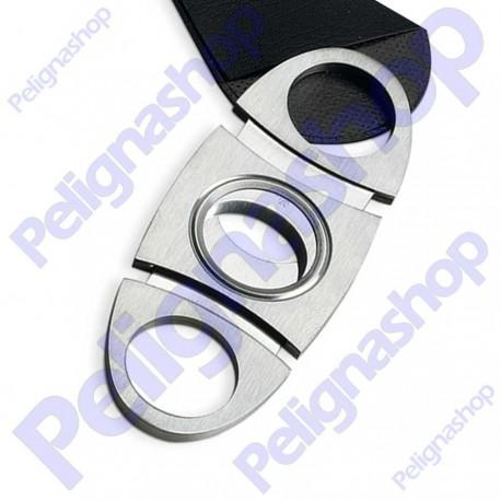 Egoist Tagliasigari Cutter Grey bilama in metallo modello 1