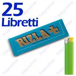 1250 Cartine Rizla Blu corte - 25 libretti