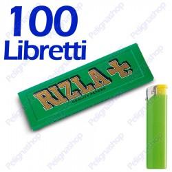 5000 Cartine Rizla Verdi corte - 100 libretti